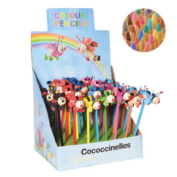 cococcinelles-kleurpotloden