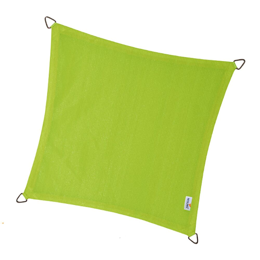 coolfit-schaduwdoek-vierkant-lime-green