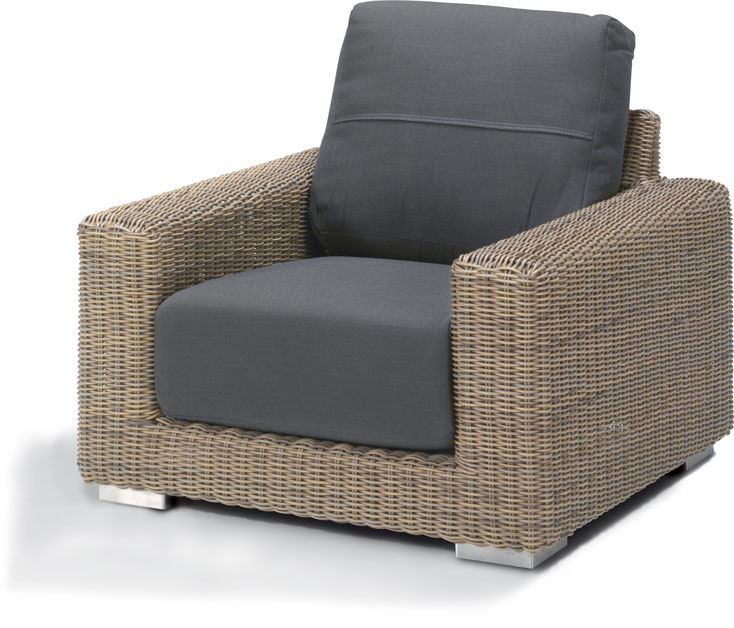 4so kingston living chair with 2 cushions pure