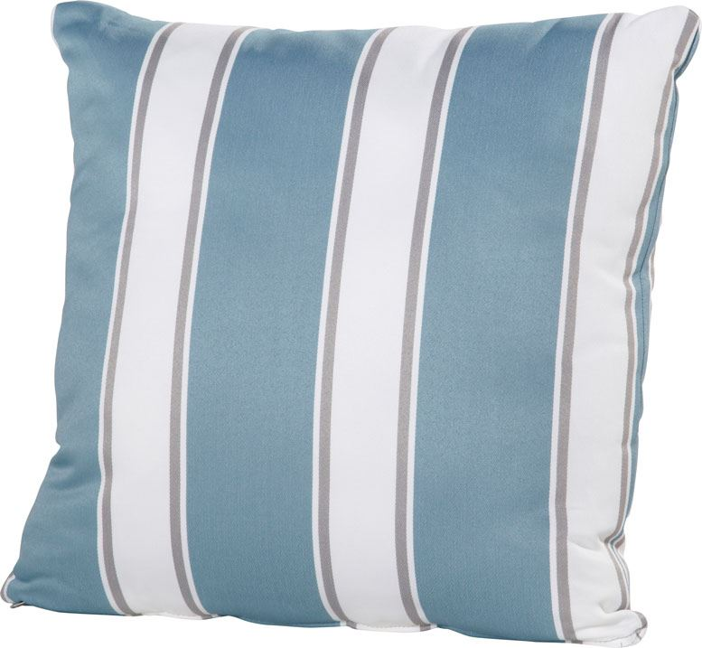 4so pillow with zipper  curiosity blue