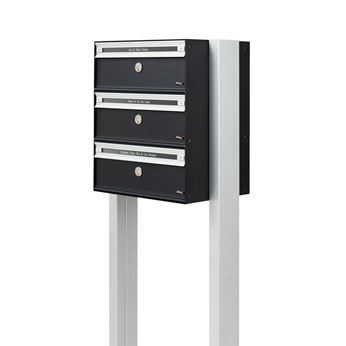 brievenbus allux pc2-3 met stand