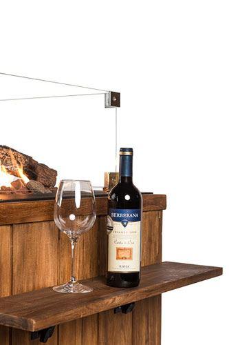 happy cocooning houten side table rechthoek/vierkant (2sts)
