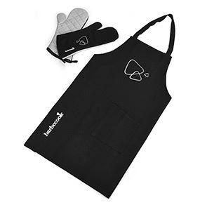 barbecook set schort met paar handschoenen