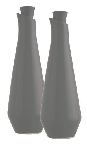 s&p olie en azijnfles set grijs studio