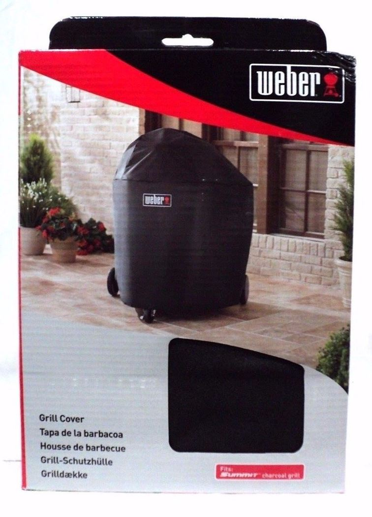 weber luxe hoes voor summit charchoal g