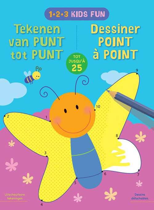 1-2-3 kids fun - tekenen van punt tot punt tot 25