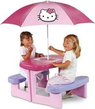 hello kitty picknicktafel + parasol