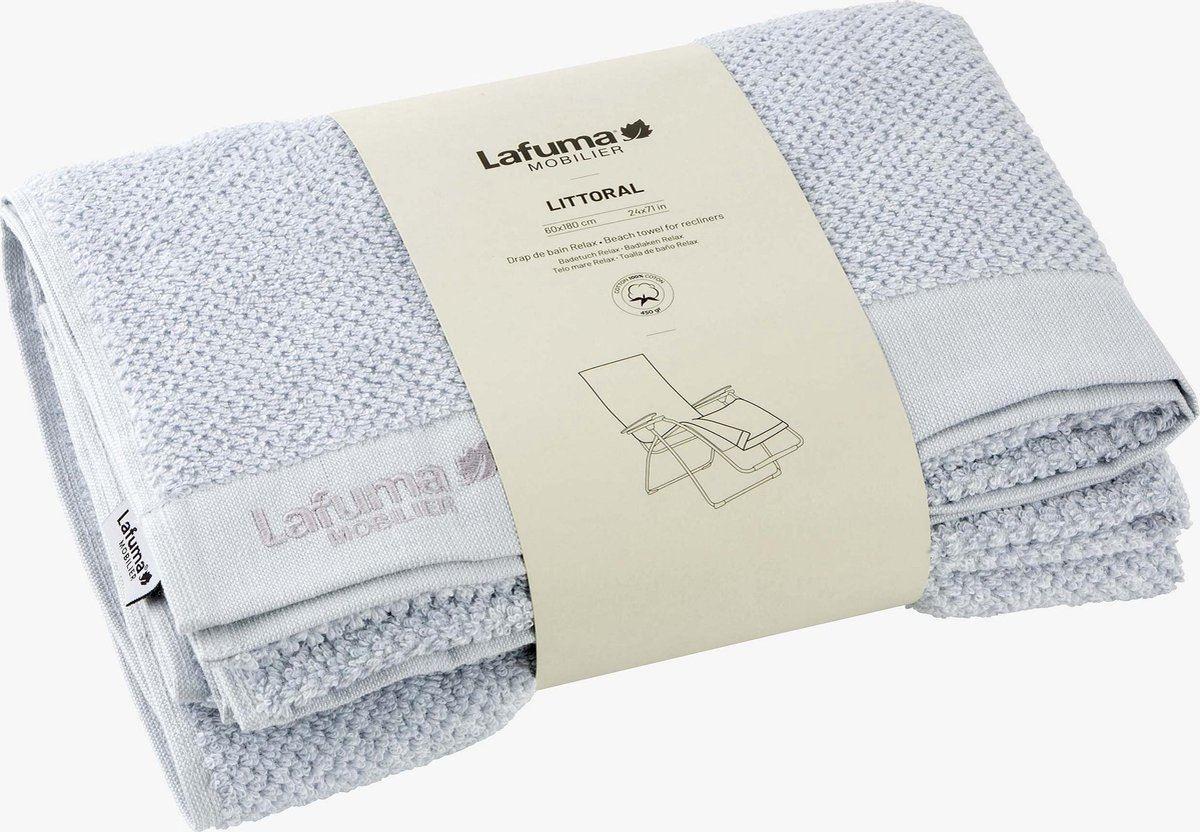 lafuma badstofhoes voor relaxstoel light grey