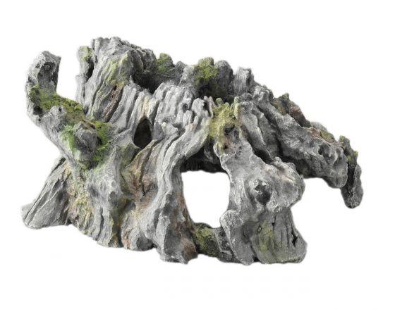 decor-drijfhout grijs