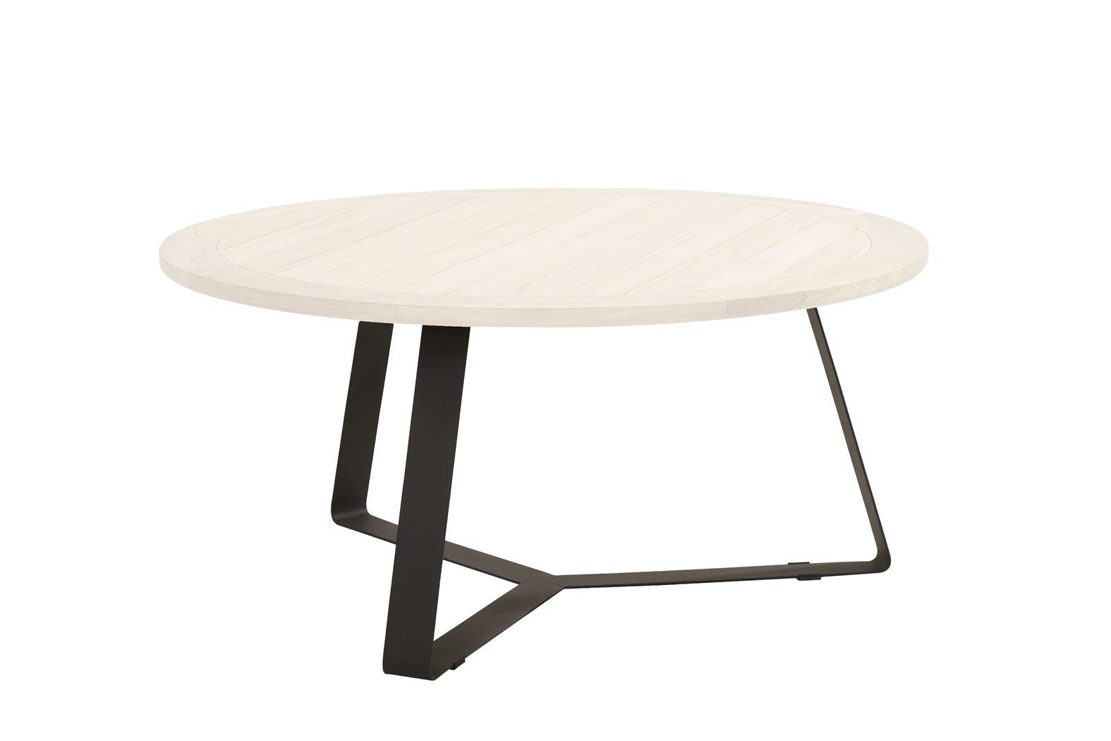 4so basso set of legs aluminium anthracite for round table