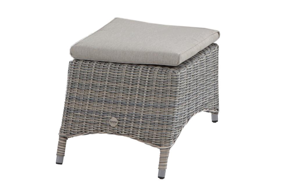 4so bolzano footstool with cushion roca