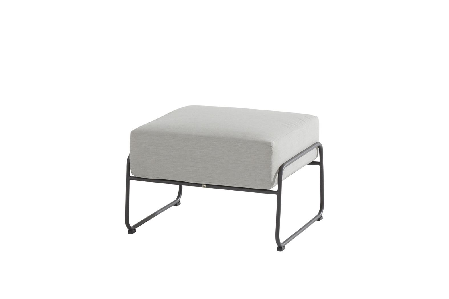 4so coast footstool with cushion anthracite