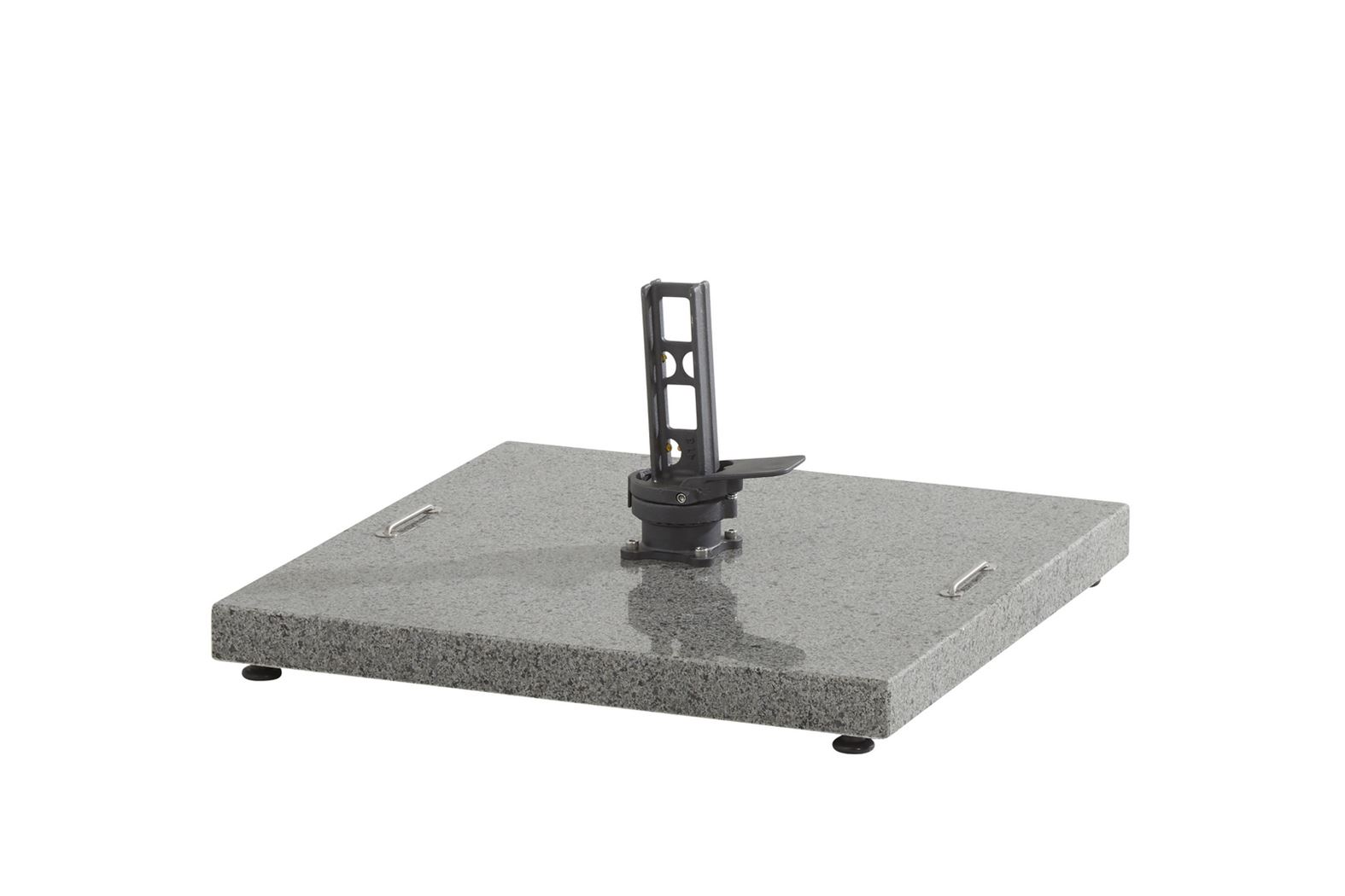 4so horizon granite base anthracite (84 kg) with holes for wheels