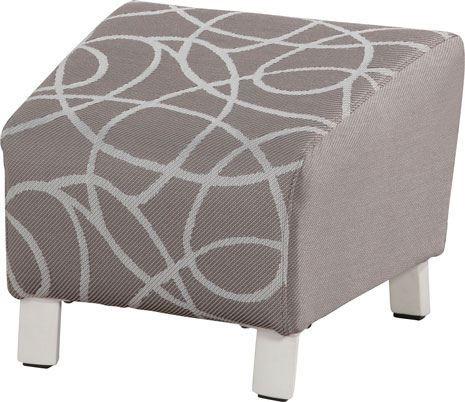 4so hugo footstool upholstery