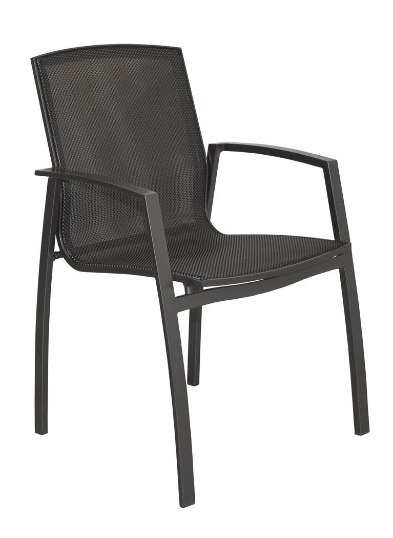 4so milan dining chair stackable matt carbon