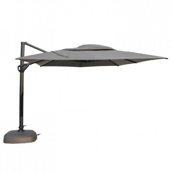 4so parasol hacienda anthracite frame charcoal
