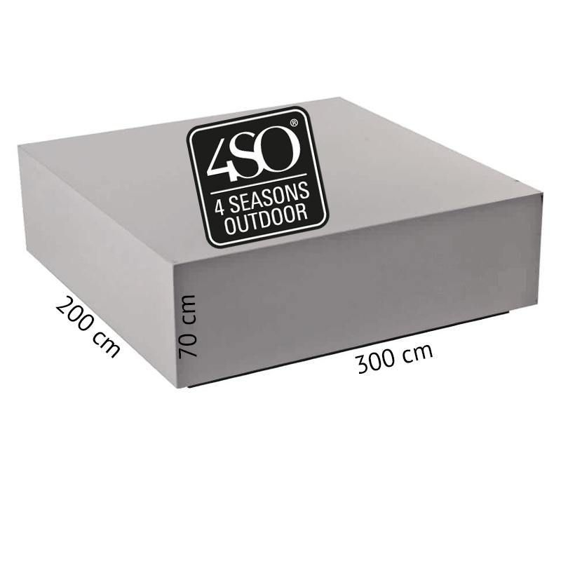 4so polyester cover rectangular group 300 x 200 x 70