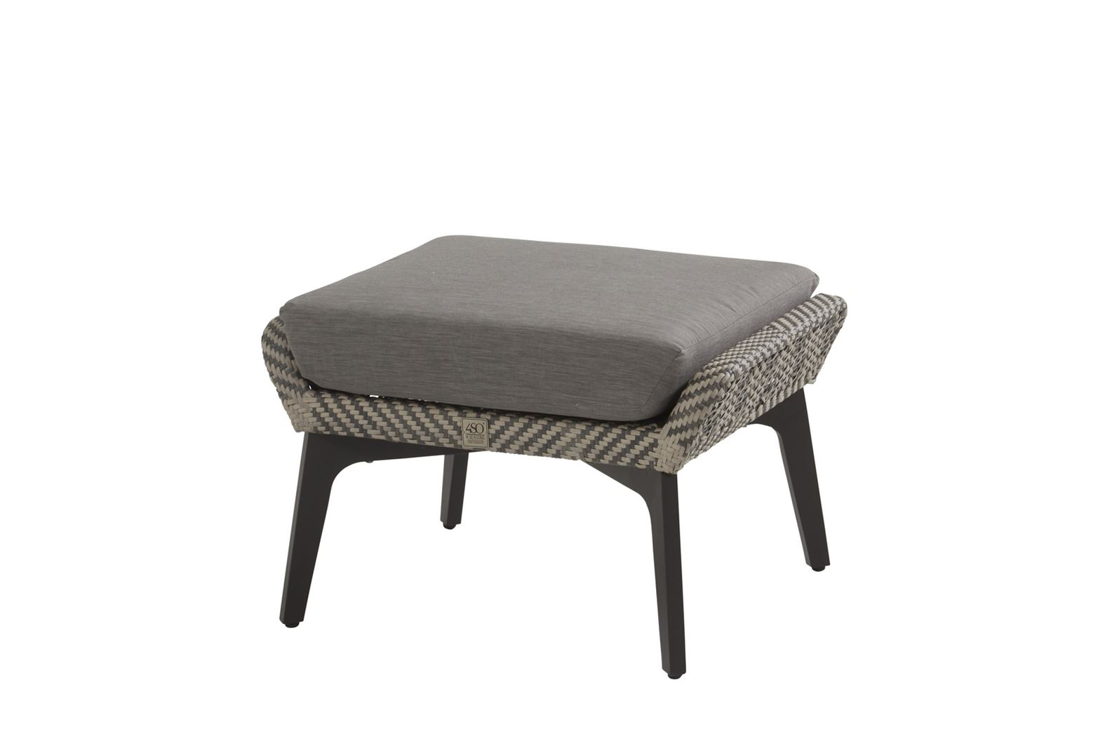 4so savoy footstool with cushion batic