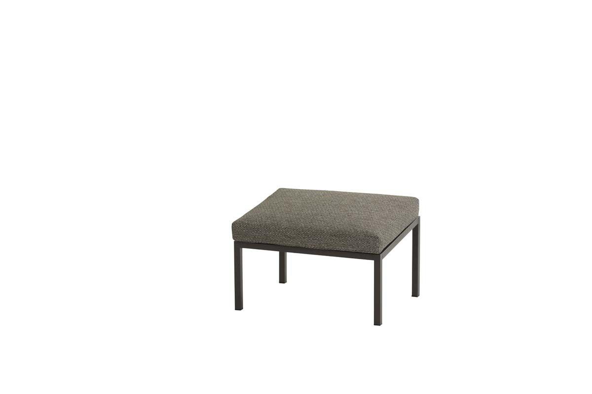 4so trentino footstool with cushion