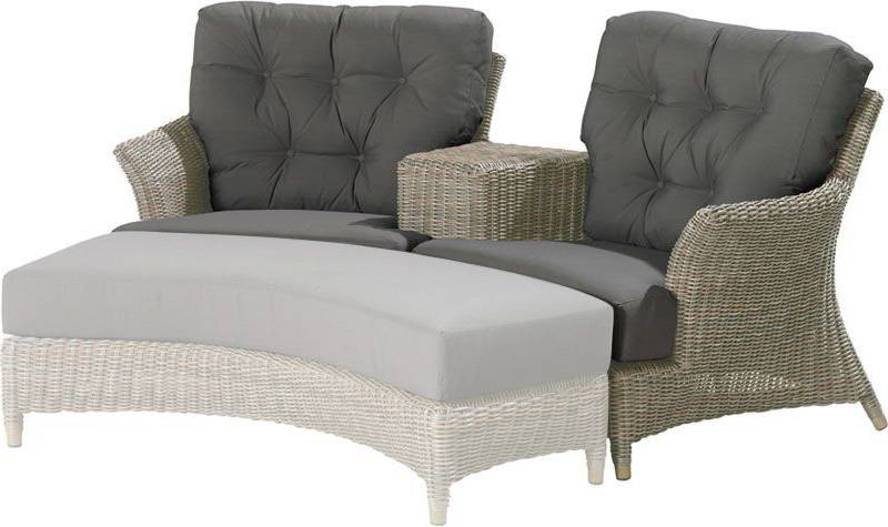 4so valentine love seat with 4 cushions