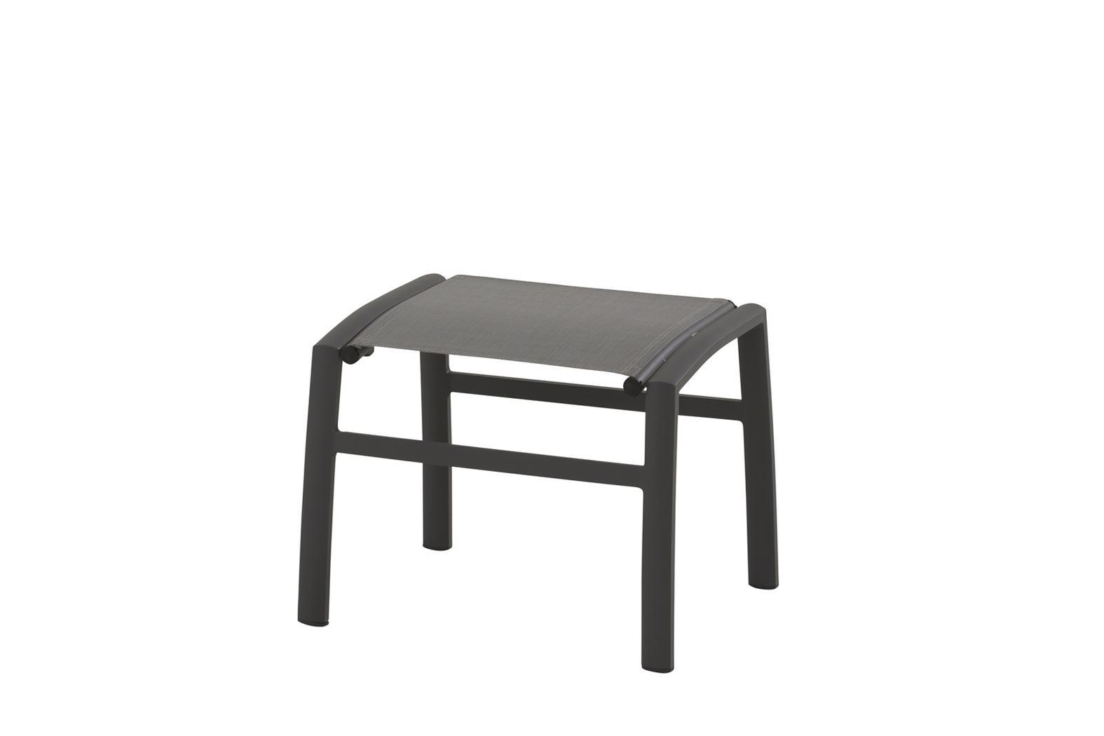 4so verona footstool matt carbon