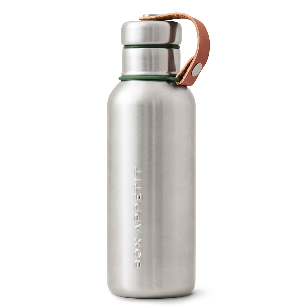 black+blum on the go insulated water bottle olive