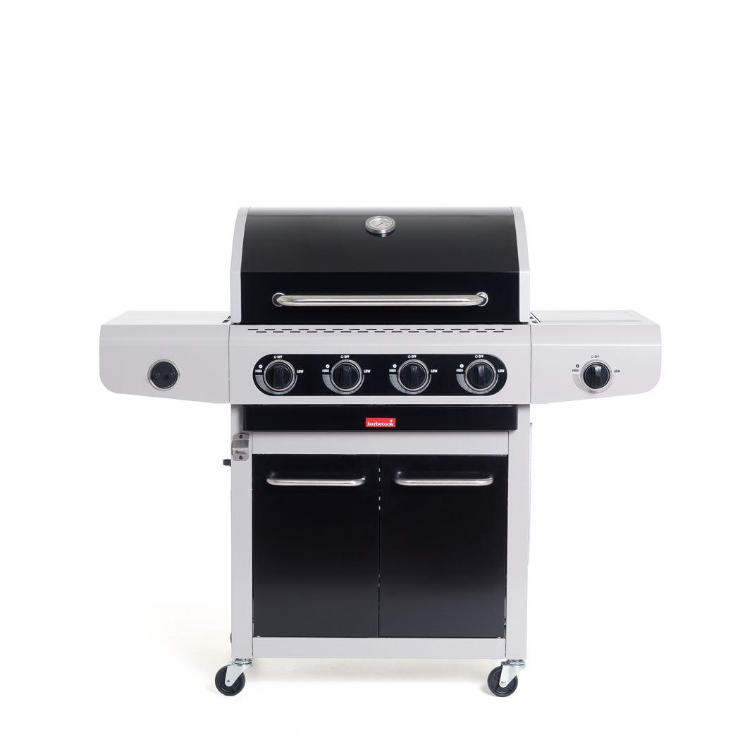 barbecook gasbarbecue siesta 412 black edition