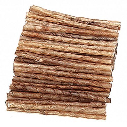 hondensnacks buffelhuid - sigaretje 9/10mm (100sts)