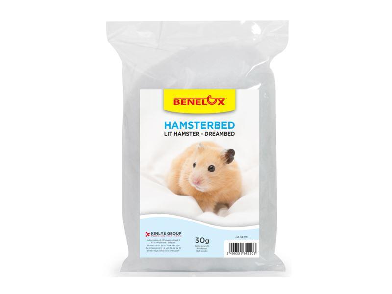benelux funny hamsternest viscose wit
