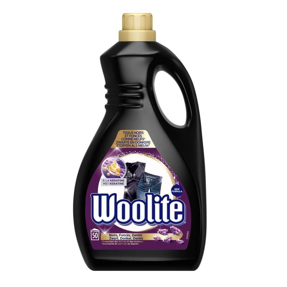 woolite wasmiddel zwart & donker