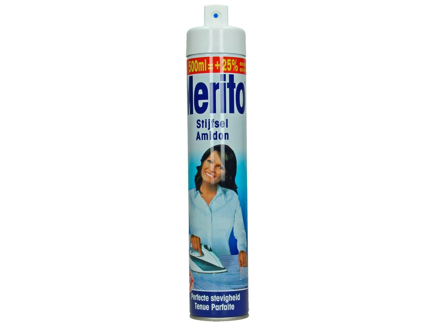 merito spray stijfsel