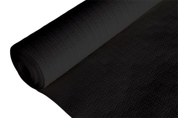c&t prof tafelkleed papier gewafeld zwart