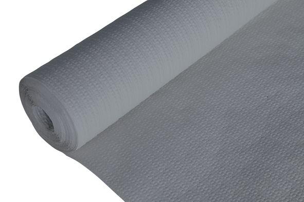 c&t prof tafelkleed papier gewafeld grijs
