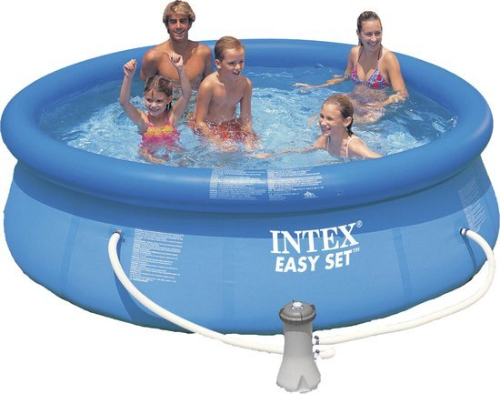 intex zwembad easy set pool set