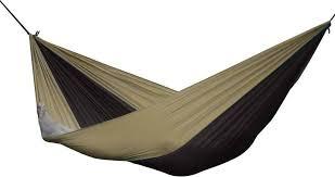 vivere parachute hammock - single (black/sand)