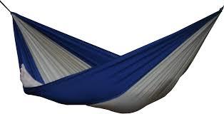 vivere parachute hammock - single (beige/navy)