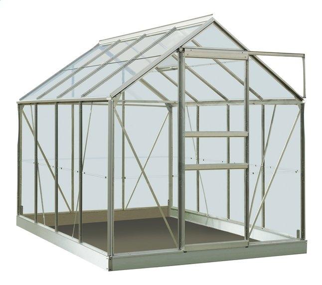 acd serre intro grow ivy aluminium met veiligheidsglas 5m²