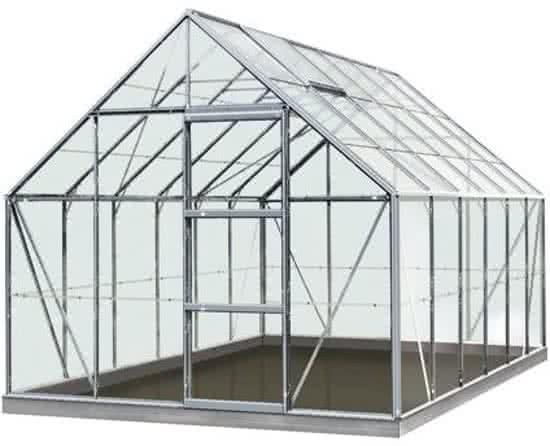 acd serre intro grow oliver aluminium met veiligheidsglas 9.9m²
