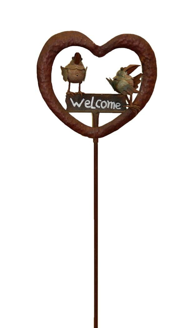 afe welcome stick metale vogel