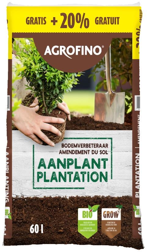 agrofino bodemverbeteraar voor aanplant