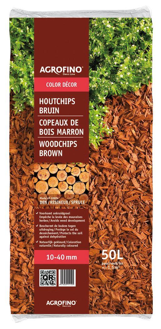 agrofino magic color mulch bruin