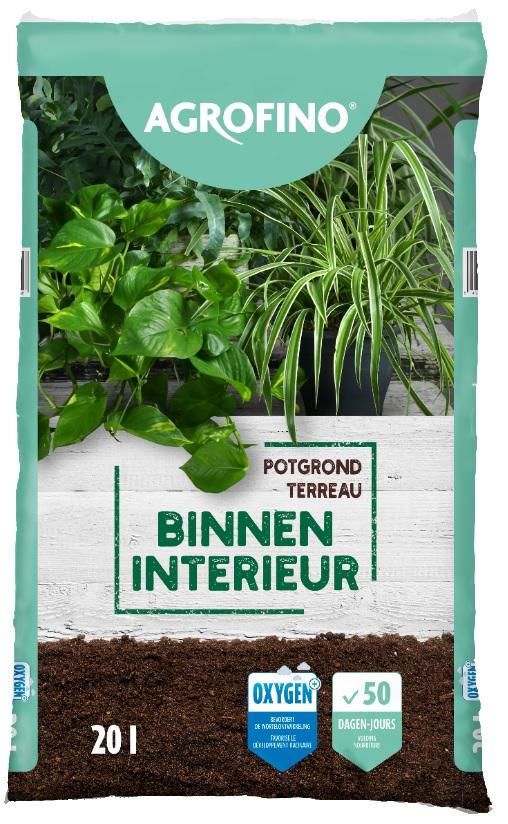 agrofino potgrond voor binnenplanten