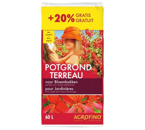 agrofino potgrond voor bloembakken