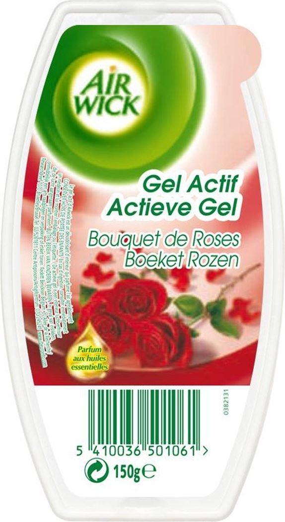 airwick luchtverfrisser gel block roses