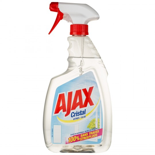 ajax spray cristal glas