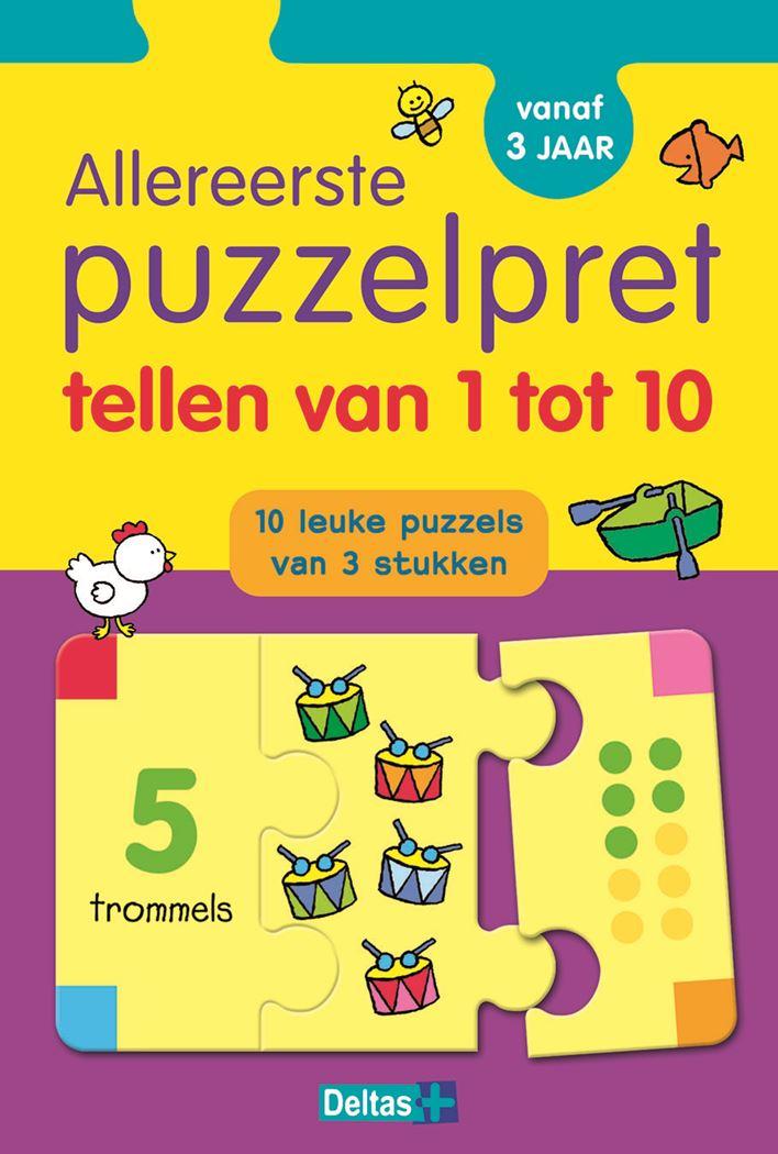allereerste puzzelpret - tellen van 1 tot 10