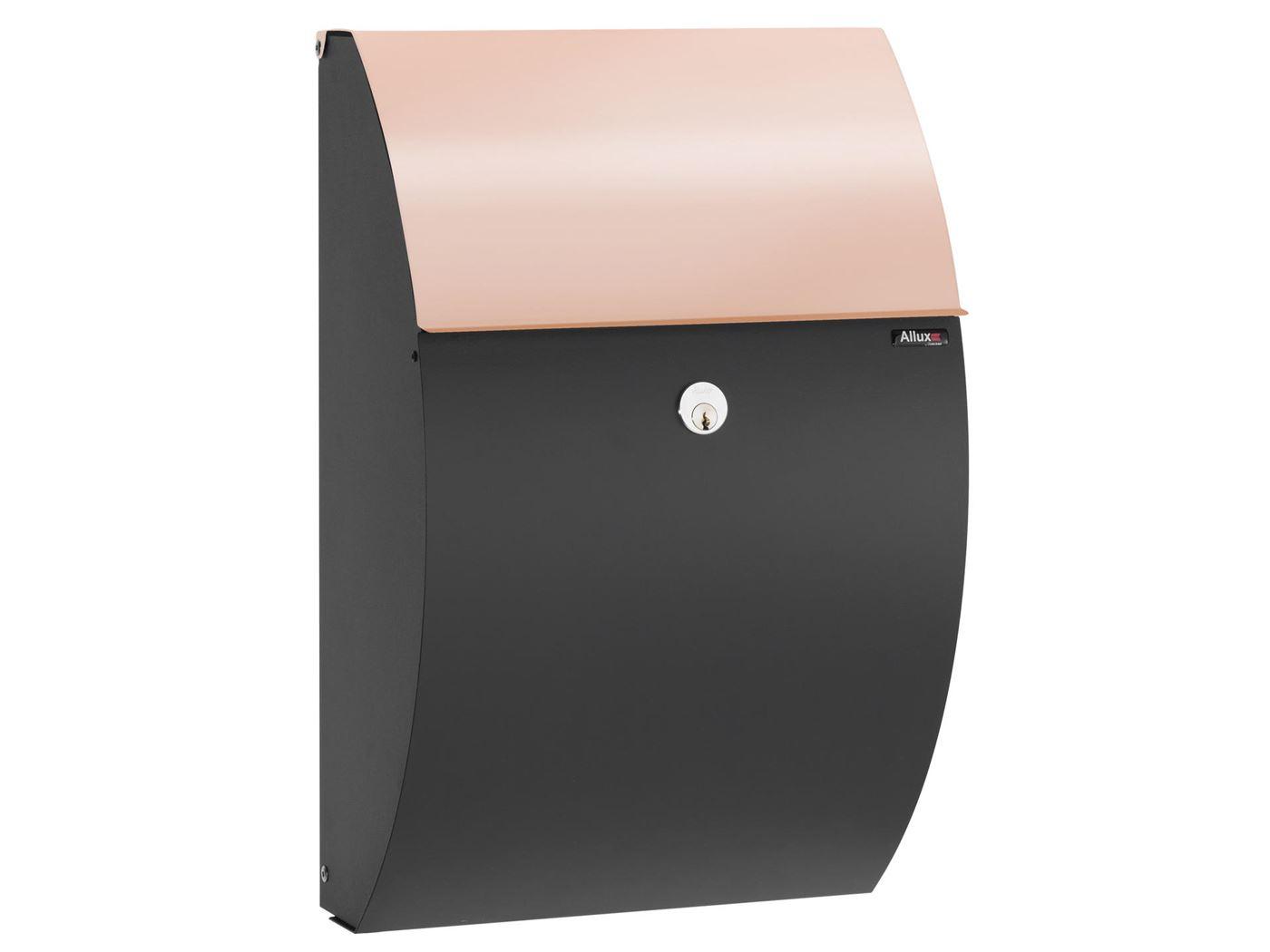 allux 7000 black finish w. copper flap