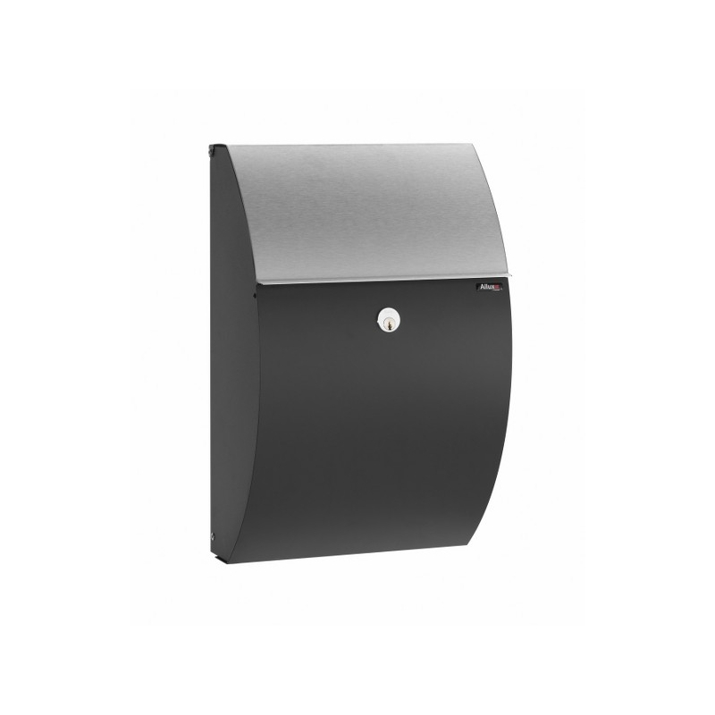 allux 7000 black finish w. stainless steel flap