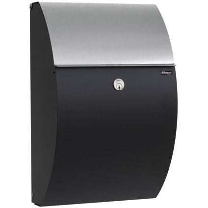 allux 7000 black finish with galv.flap