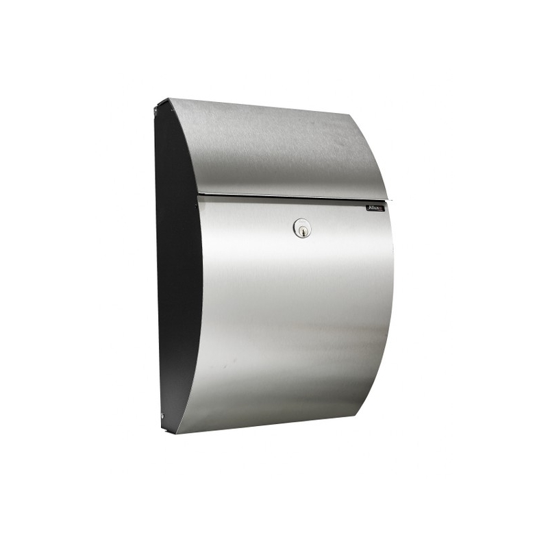 allux 7000 black, stainless steel front